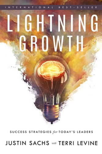 Lightning Growth by Terri Levine