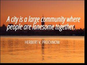 a city is a large community 300x225 - How One Small Business Grew With A Membership Site And You Can Too!
