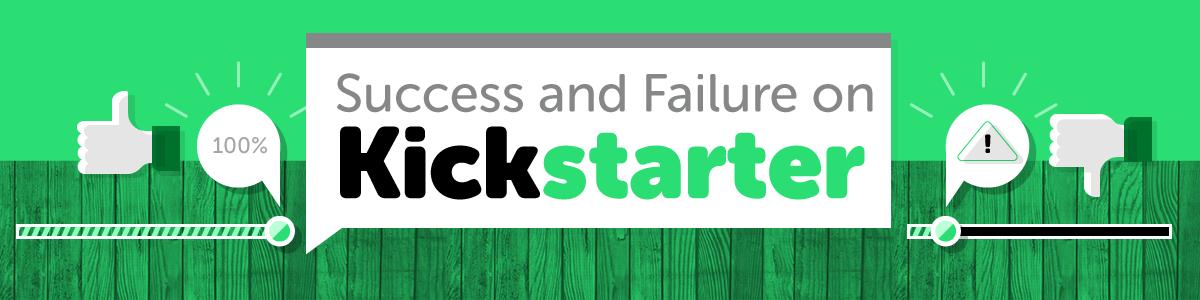 header - Success and Failure on Kickstarter