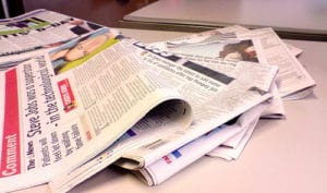 newspapers 300x177 - Some Smart PR Consulting Advice For Your Small Business