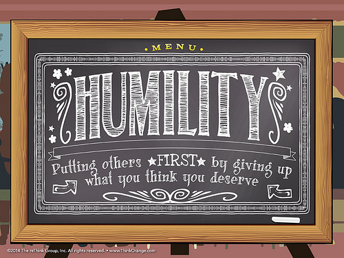On Humility…