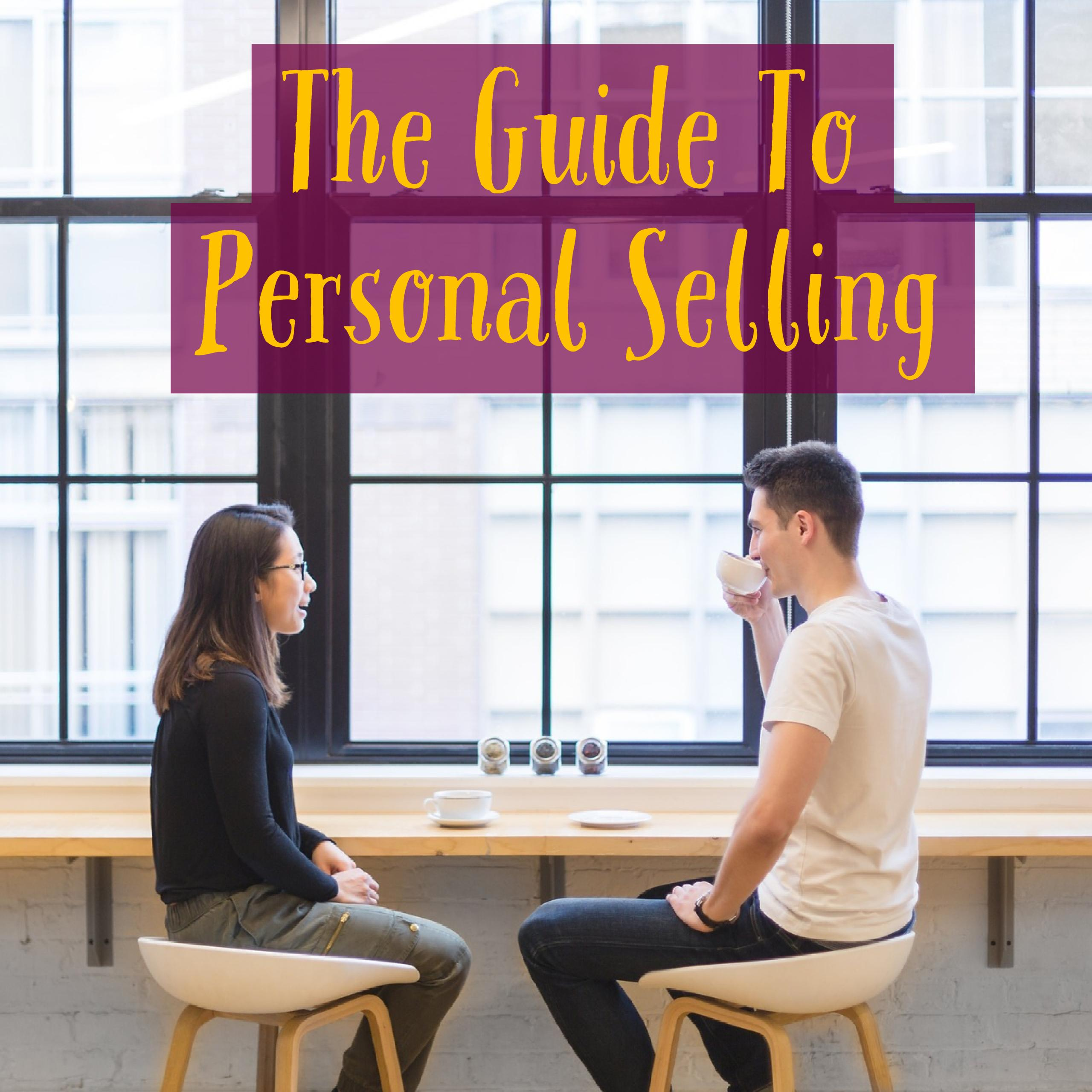 Personal selling  |Personal Selling