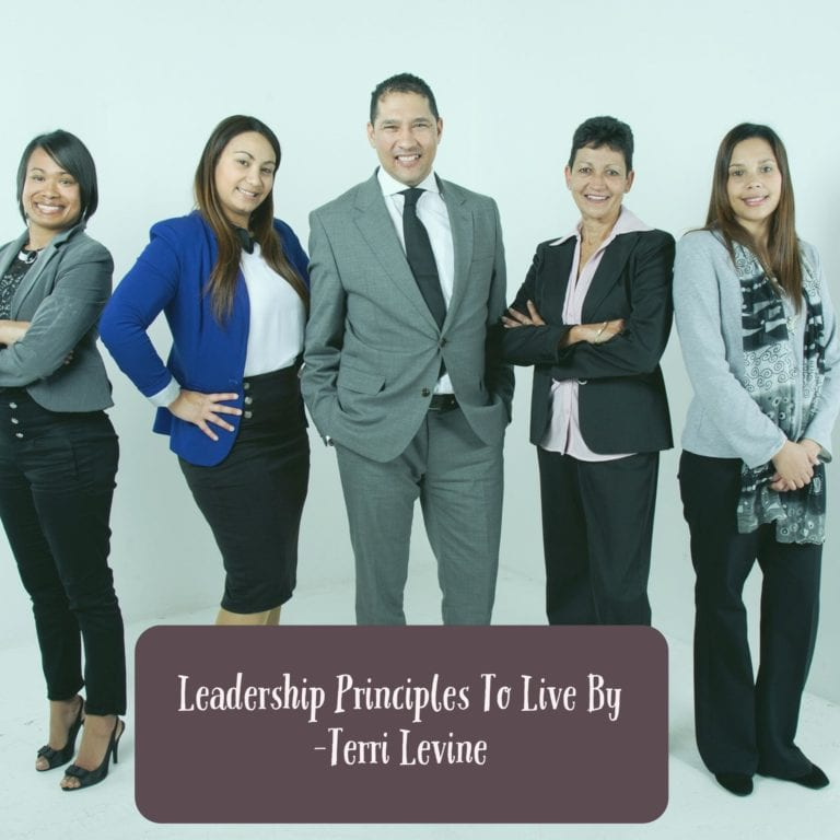 Leadership Principles To Live By