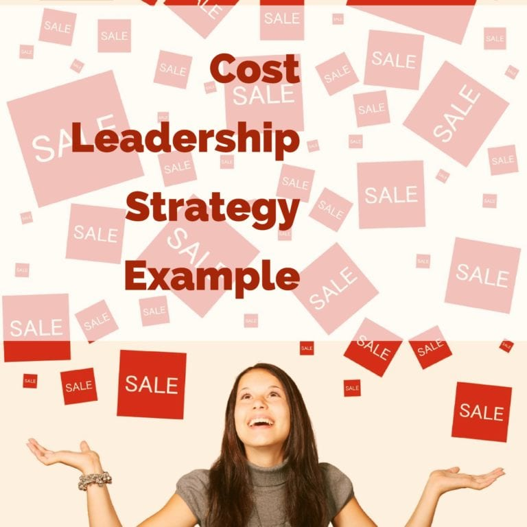 Cost Leadership Strategy Example