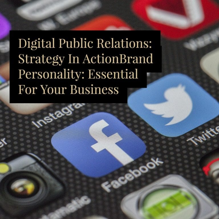 Digital Public Relations: Strategy In Action