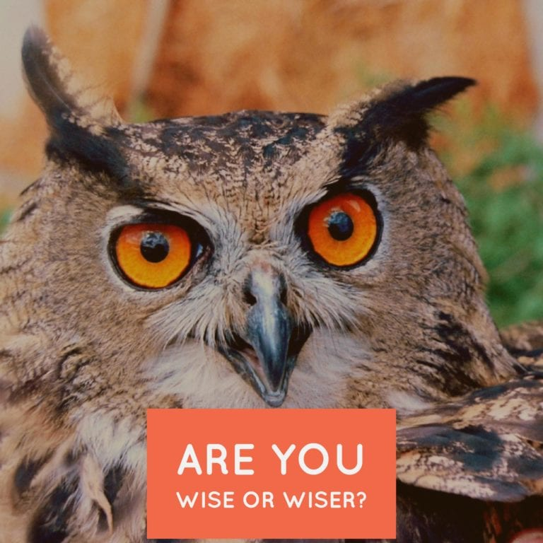 Are you Wise or WisER?