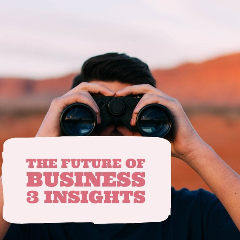 The Future of Business 3 Insights