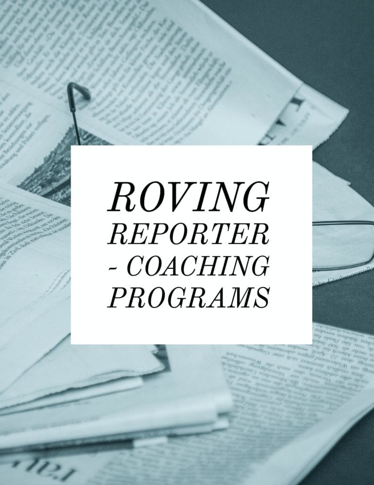Roving Reporter – Coaching Programs