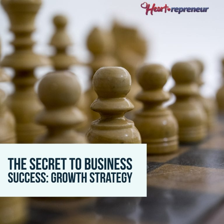 The Secret To Business Success: Growth Strategy