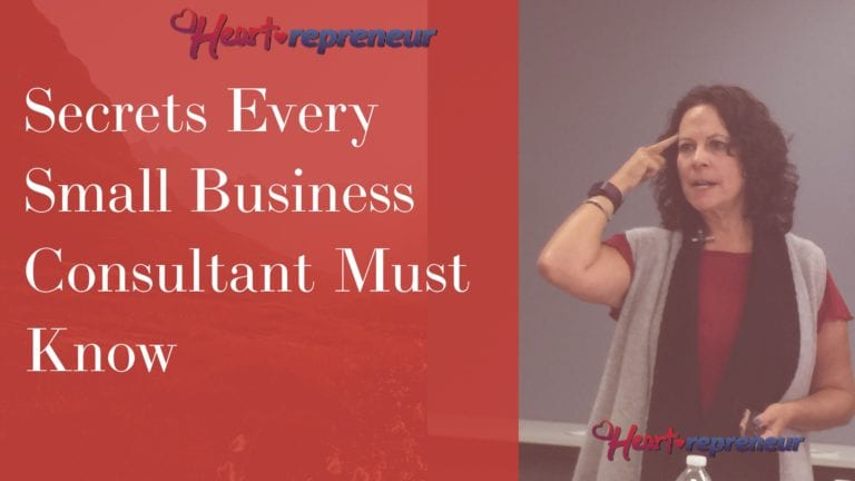 Secrets Every Small Business Consultant Must Know