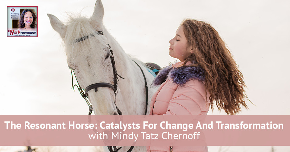 109hprbanner - Heartrepreneur® Radio | Episode 109 | The Resonant Horse: Catalysts For Change And Transformation with Mindy Tatz Chernoff