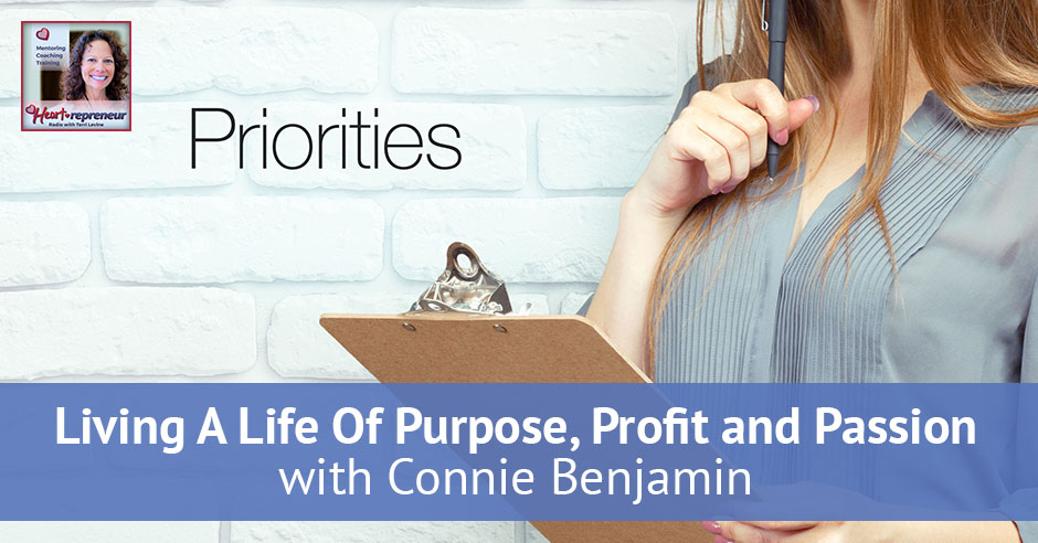 116hprbanner - Heartrepreneur® Radio | Episode 116 | Living A Life Of Purpose, Profit and Passion with Connie Benjamin