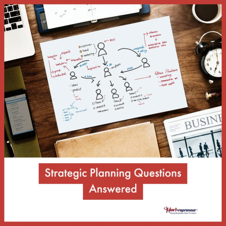 Strategic Planning Questions Answered