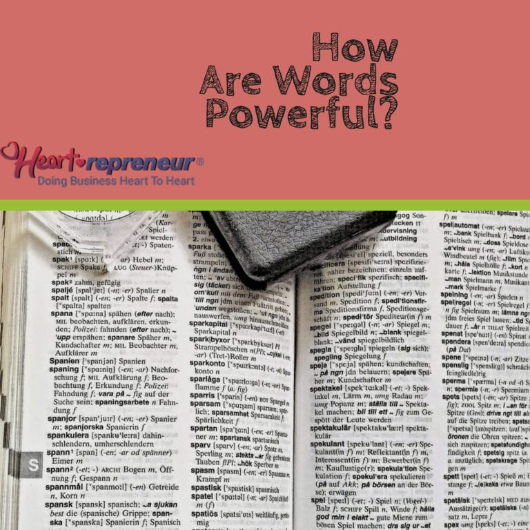 How Are Words Powerful?