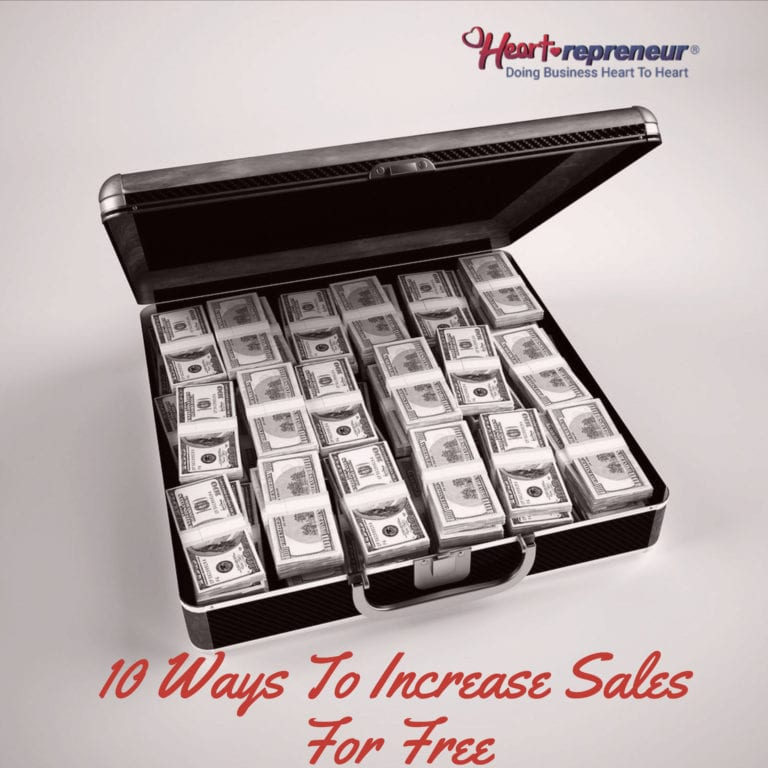 10 Ways To Increase Sales For Free