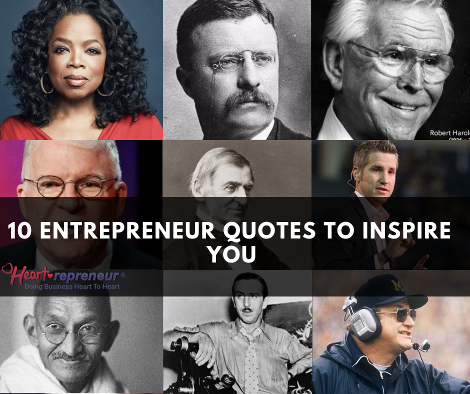 10 Entrepreneur Quotes to Inspire You