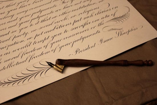 """Use Your Best Penmanship - How Important Are """"Thank You"""" Cards in Business?"""