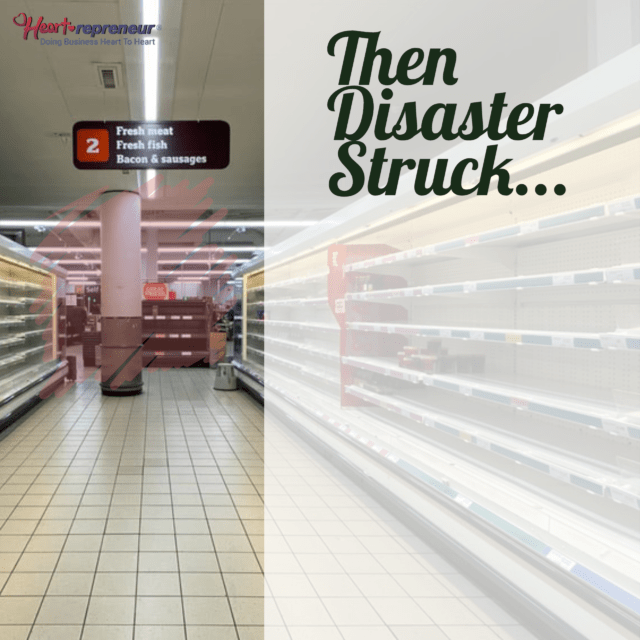 Then Disaster Struck – Panic Happened – Now What?