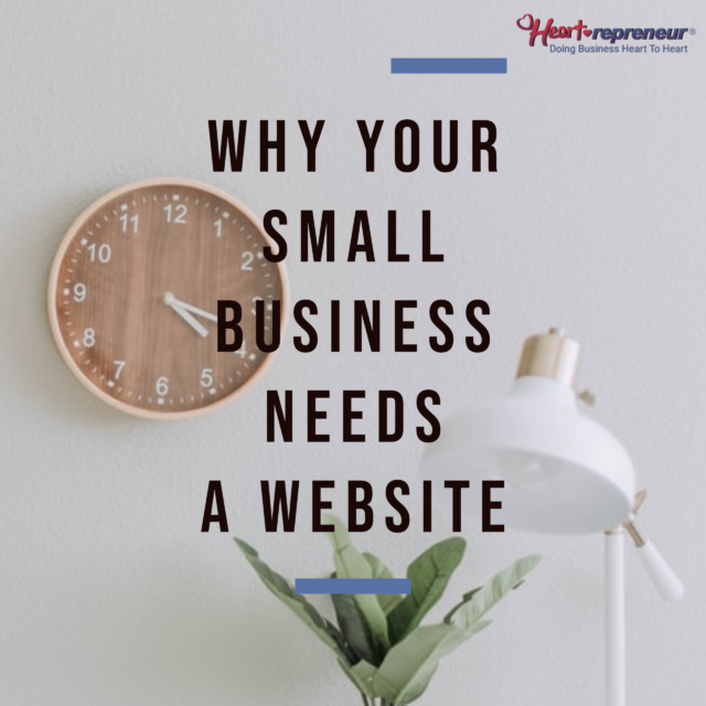 How to design a simple website 640x640 - 3 Reasons Why YOUR Small Business NEEDS A Website Presence