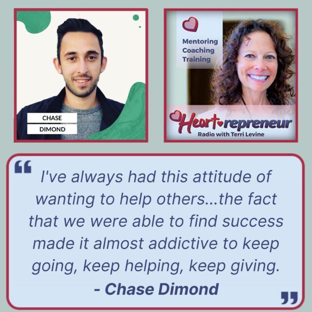HPR257GuestQuote 640x640 - Heartrepreneur® Radio | Episode 257 | How Sending 1 Billion Emails Resulted in $50+ Million in Revenue With Chase Dimond